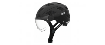 Abus Helm HYBAN+ Black Clear