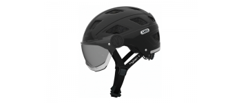 Abus Helm HYBAN+ Black Smoke