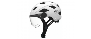 Abus Helm HYBAN+ White Cream Clear