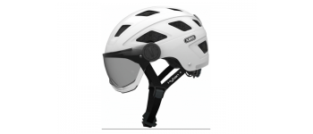 Abus Helm HYBAN+ White Smoke